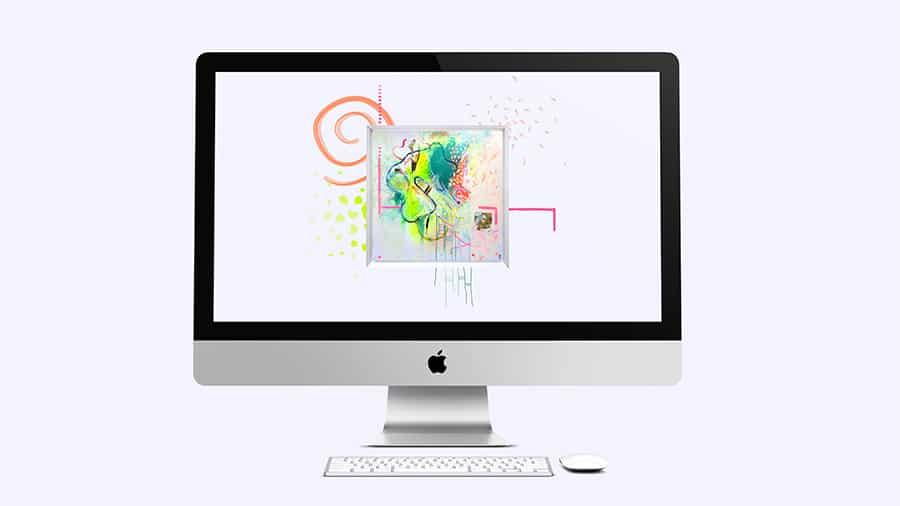 agitation bruyante fond d'écran wallpaper art abstrait collection éveil gratuit