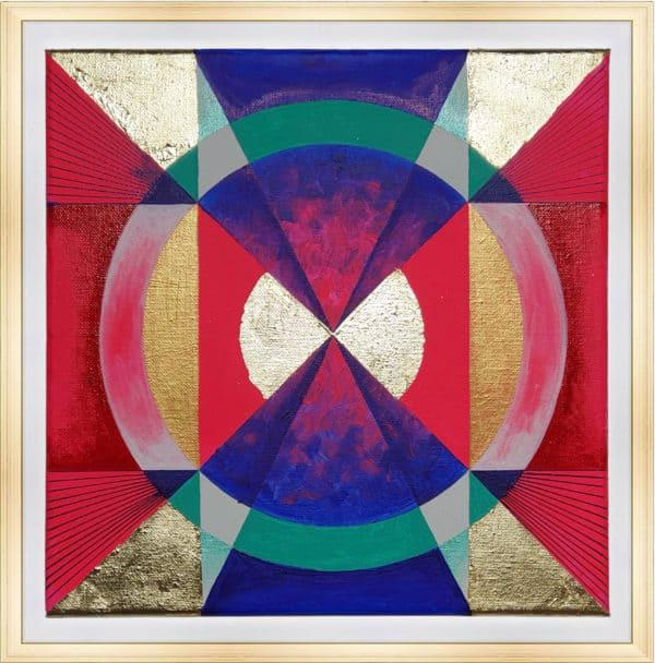 Tableau Abstrait - Psychédéliques Vibrations