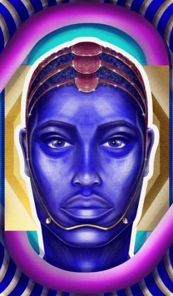 Tableau Portrait - Moussa