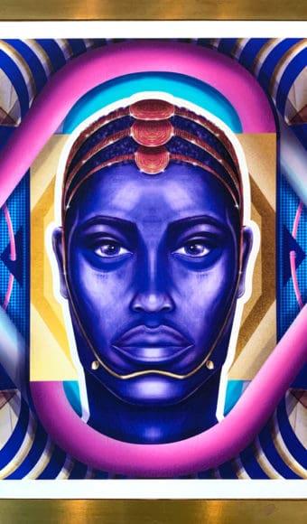 Poster Portrait - Moussa