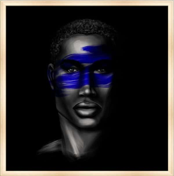Tableau Portrait - Djibril