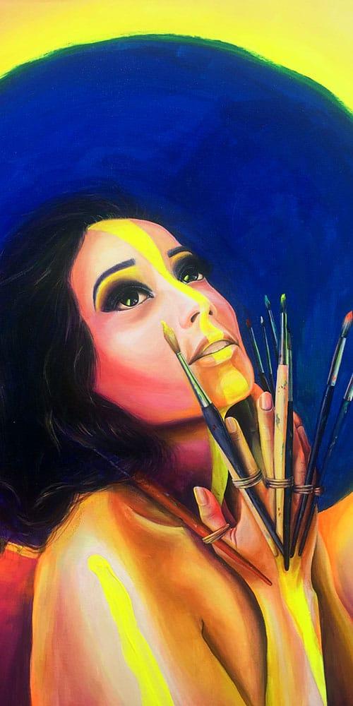 preview for zohra aux mains de pinceaux