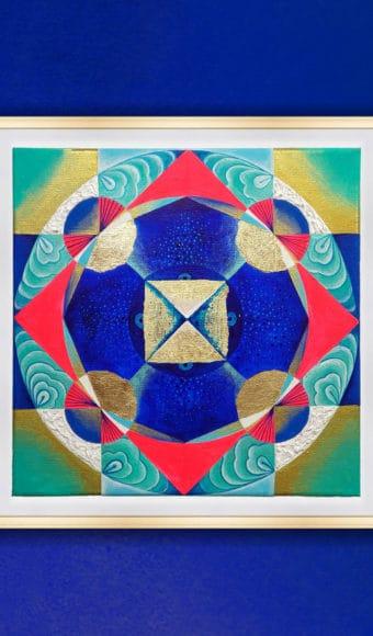 Tableau Abstrait - Hypnotiques Vibrations
