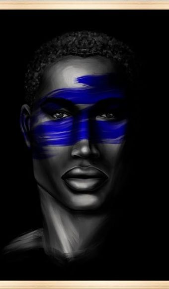 Tableau print - Portrait : Djibril