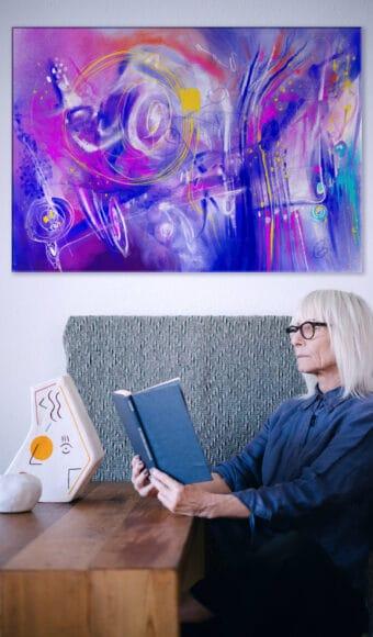 Poster Édition limitée - Abstrait : Conscience