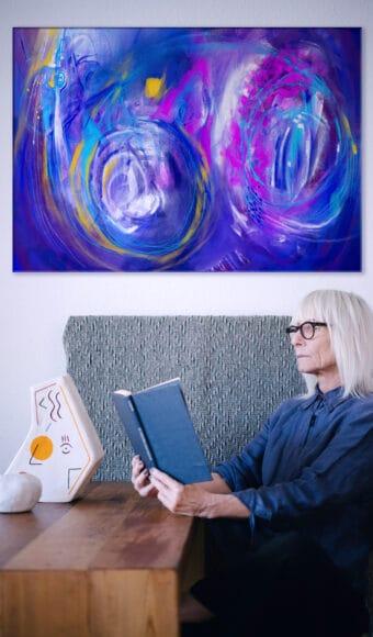 Poster Édition limitée - Abstrait : Dualité