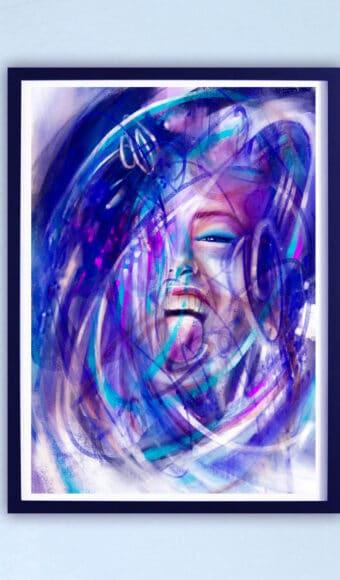 Poster Édition limitée - Portrait : Enjoy