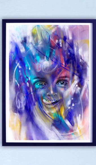 Poster Édition limitée - Portrait : Malice