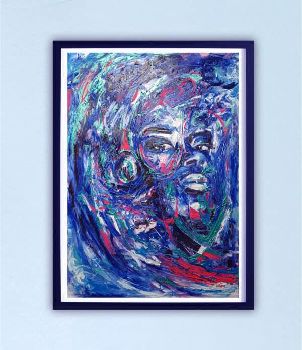 Poster Édition limitée - Portrait : Boubakar le Digne