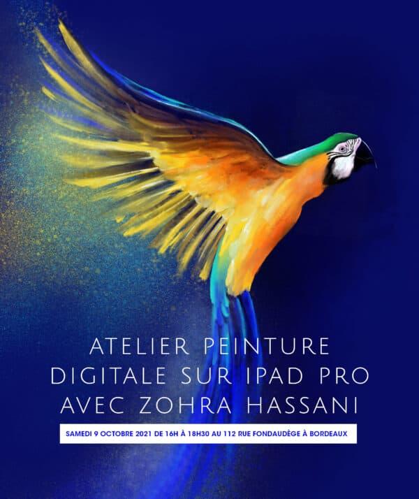 Atelier Peinture Digitale du 09/10/2021